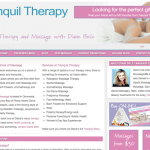 Tranquil Therapy Website